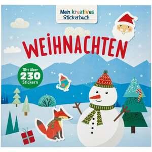 IDEENWELT Mein kreatives Stickerbuch Weihnachten