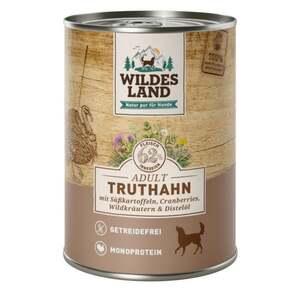 Wildes Land Hundenassfutter Truthahn mit Süßkartoffeln 5.98 EUR/1 kg