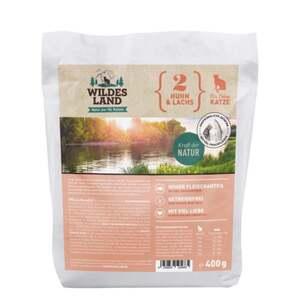 Wildes Land Katzentrockenfutter Huhn und Lachs 9.98 EUR/1 kg