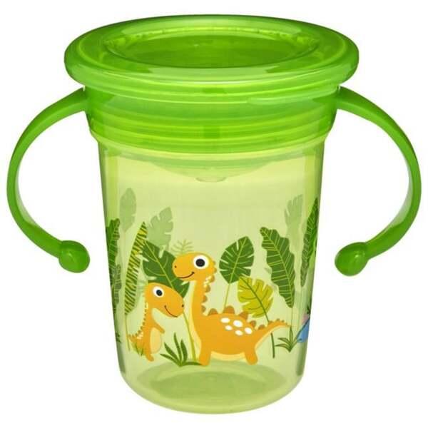 Babydream Trinklernbecher mit Griff, grün
