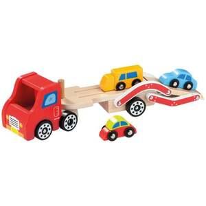 IDEENWELT Holz-Autotransporter