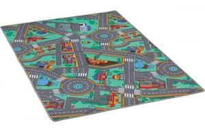 Straßenspielteppich ca. 100 x 175 cm