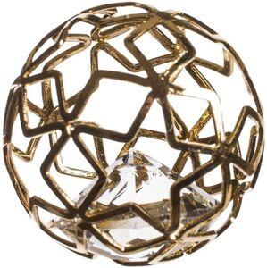 Dekokugeln - aus Metall - Ø = 3 cm - 6 Stück