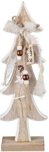 Standdeko - Tannenbaum - aus Holz - 16 x 6 x 40 cm