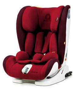 Autokindersitz APRAMO® EROS rot, Gruppe 1,2,3 – Gewicht 9 bis 36 KG – 9 Monate  bis 12 Jahre – mit Isofix und Top Tether