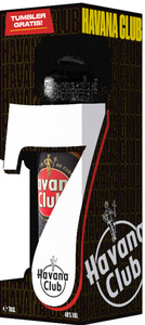 Havana Club Añejo 7 Años + Tumbler On-Pack | 40 % vol | 0,7 l