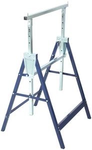 ATROX AY519 Klappbock 2 Stück bis 200 kg höhenverstellbar Metall Stützbock