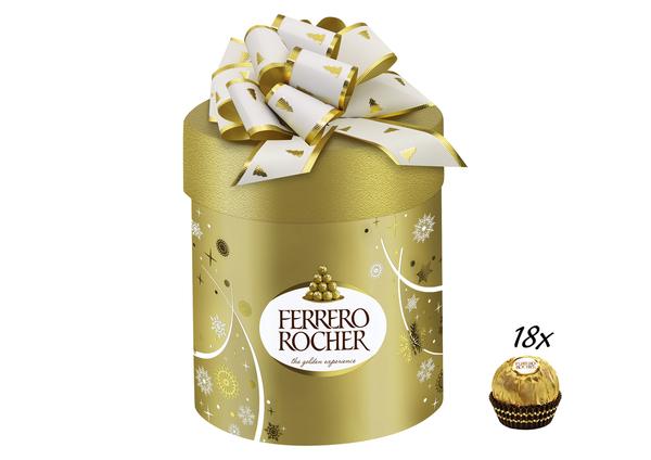 Ferrero Rocher Geschenkzylinder 225g
