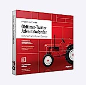 Franzis Adventskalender Porsche Oldtimer Traktor 1:43 2019 Baukasten