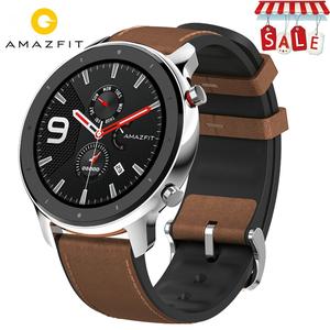 XIAOMI HUAMI AMAZFIT GTR Smartwatch 47mm 50M Wasserdicht 12Sports Modells Fitnesstracker Gps Echtleder  Silikon Edelstahl