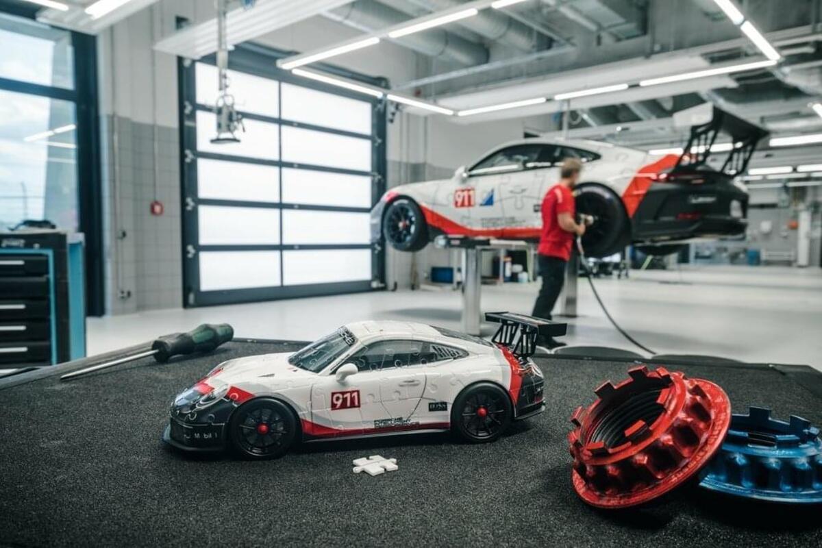 Bild 3 von Porsche 911 GT3 Cup Ravensburger 11147
