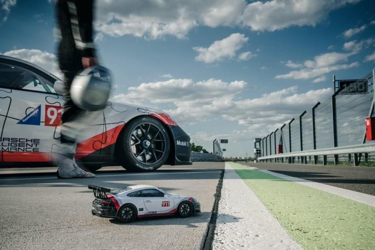 Bild 4 von Porsche 911 GT3 Cup Ravensburger 11147