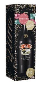 Bailey's The Original Irish Cream + 6 feine Bailey's Trüffel  17 % vol   0,7 l