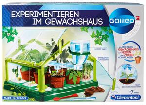 """Clementoni Galileo Experimentierkasten """"Experimentieren im Gewächshaus"""""""