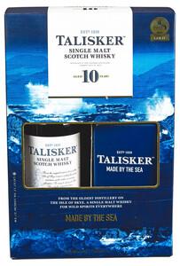 Talisker Isle of Skye Single Malt Scotch Whisky 10y mit Flachmann