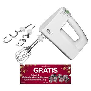 Krups 3 Mix 7000 F603 13 Handmixer Weihnachtsedition