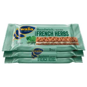 Wasa Sandwich Cheese & French Herbs 90g