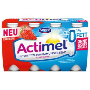 Danone Actimel Erdbeer 0,1% 8x100g