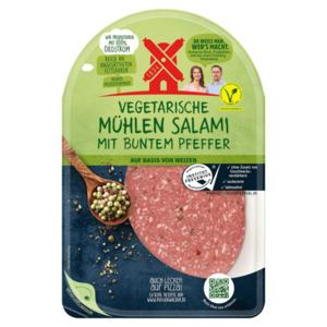 Rügenwalder Mühle Vegetarische Salami bunter Pfeffer 80g