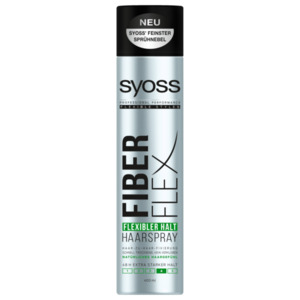 Syoss Haarspray Fiber Flex Flexibler Halt extra starker Halt 400ml