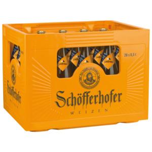 Schöfferhofer Hefeweizen dunkel 20x0,5l