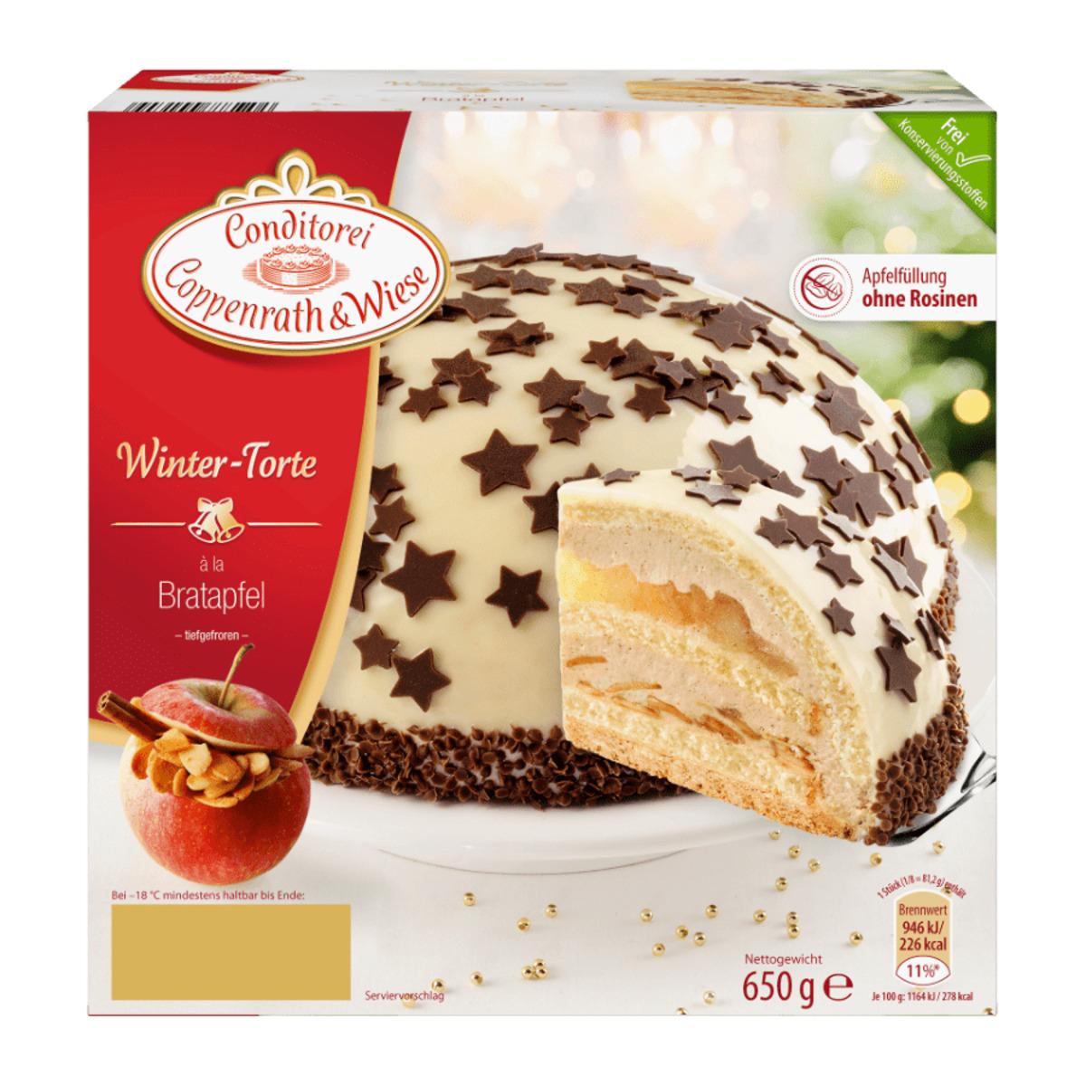 Coppenrath & Wiese Winter-Torte von Aldi Nord ansehen!