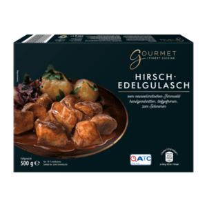 GOURMET      Hirschedelgulasch
