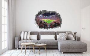FCB Wandtattoo 3D nachleuchtend Allianz Arena mehrfarbig