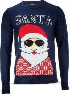 Herren Christmas Sweater - navy, Gr. L