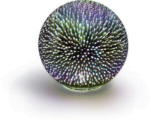 Dekor LED Feuerwerk-Echtglaskugel, ca. Ø15 cm - Sterne