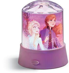 Tischlampe mit Stern-Projektor Disney Frozen II - Elsa & Anna, hellviolett
