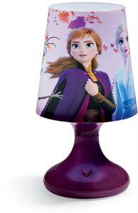 RGB Tischlampe Disney Frozen II -  Elsa, Anna & Olaf, dunkelviolett