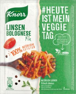 Knorr Veggie Fix Linsen-Bolognese 44 g