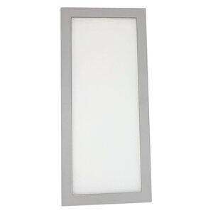 LED-Unterbauleuchte - silber - 23x10 cm - kaltweiß