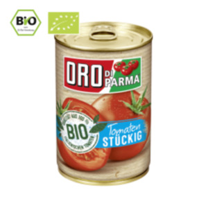 Oro di Parma Bio Tomaten stückig oder passiert
