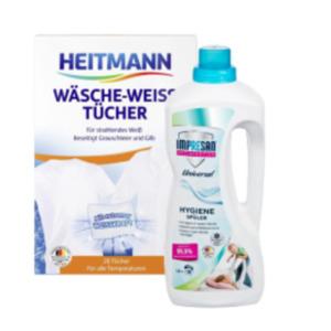 Impresan Hygienespüler oder Heitmann Wäschetücher