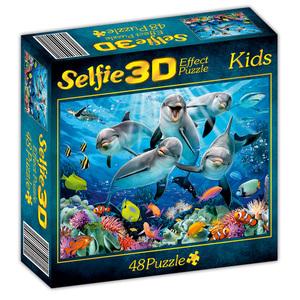 M.I.C 3D-Premium-Effekt-Selfie-Puzzle
