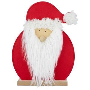 Weihnachtsmann Raphael aus Holz und Filz