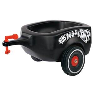 BIG - Bobby Car: Anhänger mit Flüsterrädern, schwarz