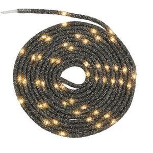 Pureday LED-Lichtschlauch 'Tubo', Anthrazit