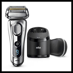 Braun Rasierer Series 9 - 9291cc Wet&Dry, silber, silber