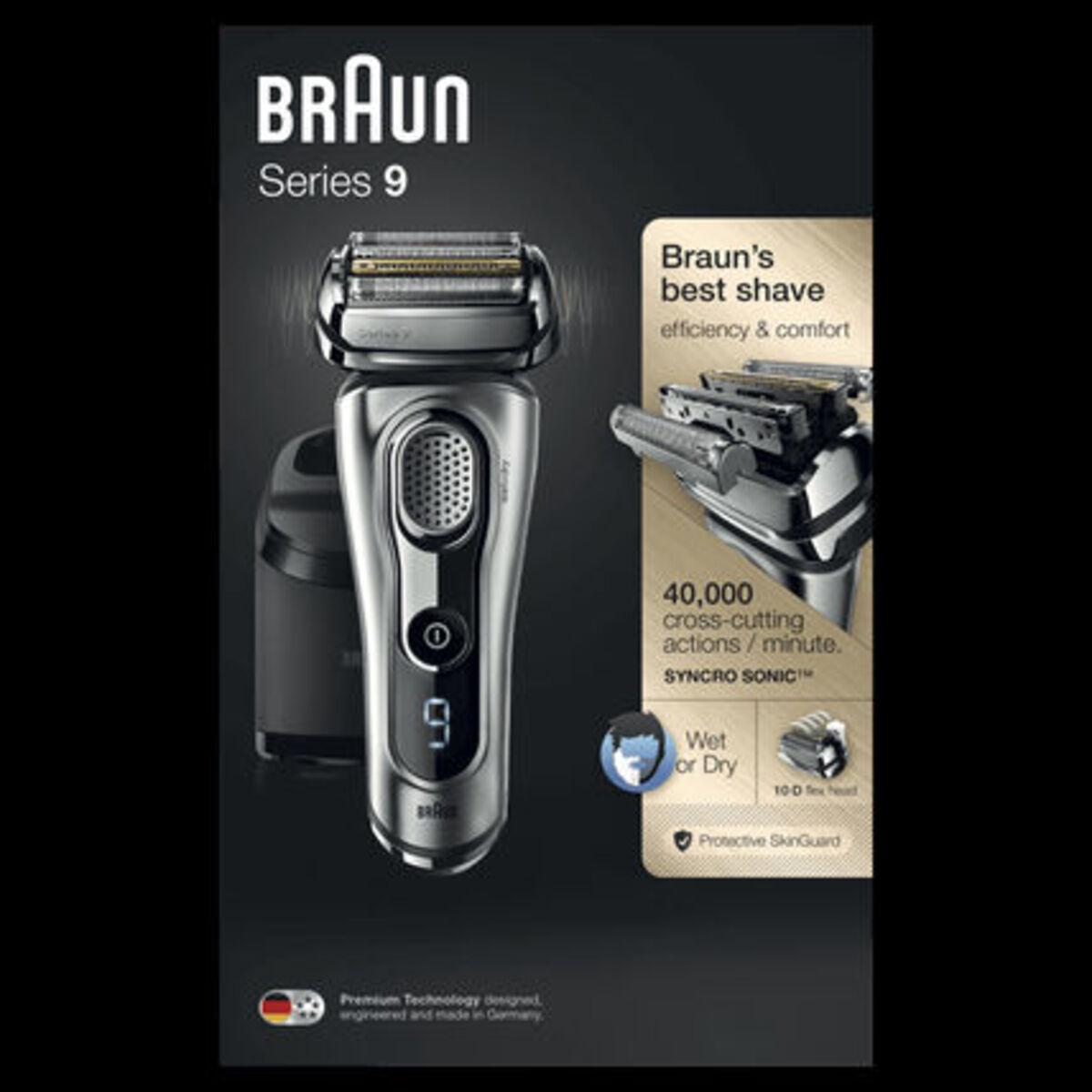 Bild 2 von Braun Rasierer Series 9 - 9291cc Wet&Dry, silber, silber