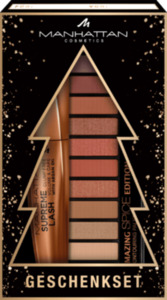 MANHATTAN Cosmetics Weihnachtsset Wimperntusche + Lidschattenpalette Spice Edition