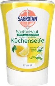 Sagrotan Flüssigseife No Touch Nachfüller Küchenseife Citrus