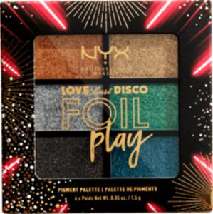 NYX PROFESSIONAL MAKEUP Lidschattenpalette Love Lust Disco Foil Play Let's Groove 03