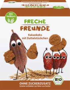 Freche Freunde Kakaokekse mit Dattelstückchen, ab drei Jahren