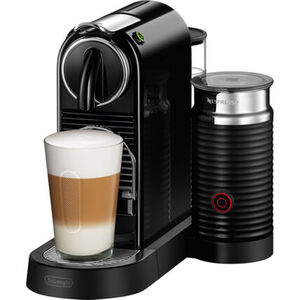 DeLonghi Nespresso-Automat Citiz EN267.BAE inklusive Aeroccino, schwarz, schwarz