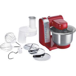 Bosch Küchenmaschine MUM48R1, rot/silber, rot