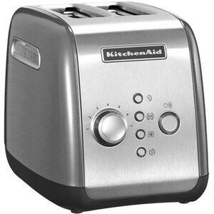 KitchenAid Toaster, 2 Scheiben 5KMT221. silber, silber