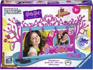 Ravensburger Puzzle - 3D Puzzles - Girly Girl Edition - Schmuckbäumchen Soy Luna, 108 Teile